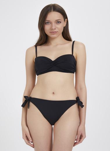 Katia & Bony Straplez Kadın Bikini Seti  Siyah